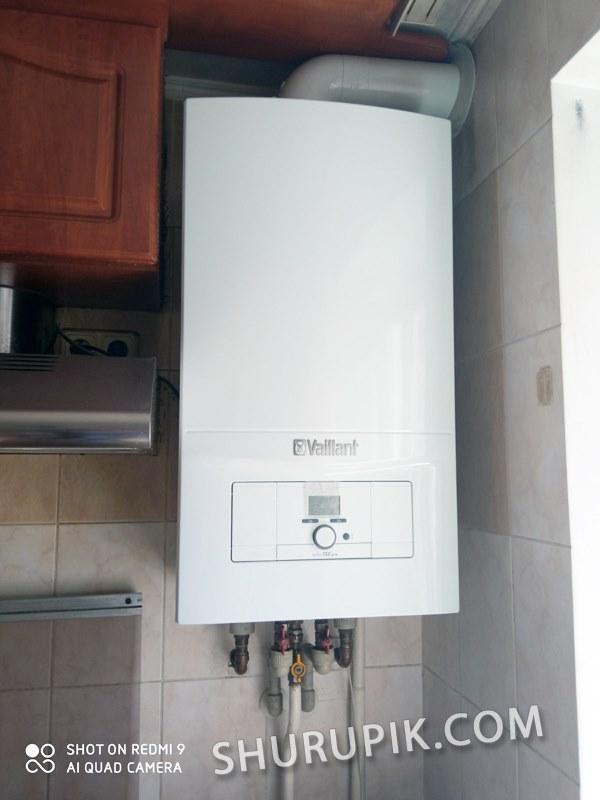 Установить газовый котел недорого