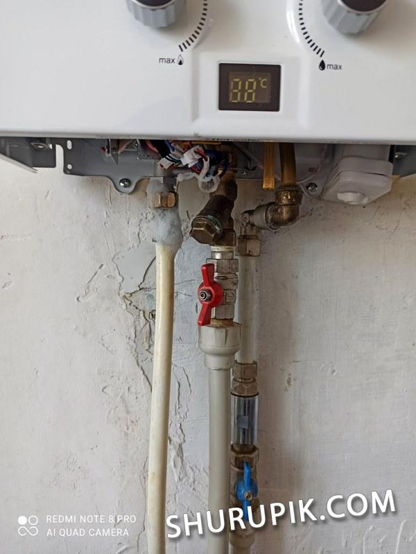 Подключение и монтаж газовой колонки под ключ цена Винница