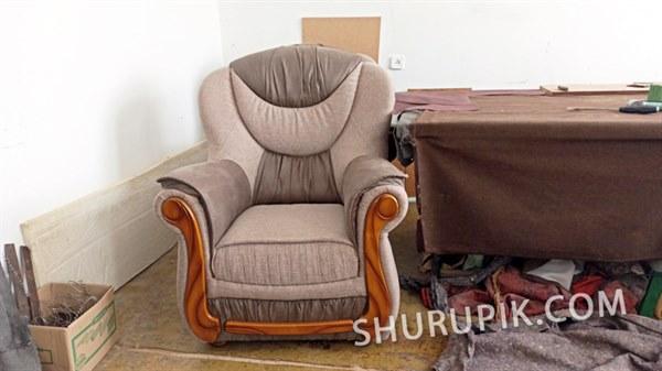 Обшивка мягкого кресла