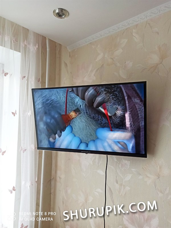 Установка телевизора цена
