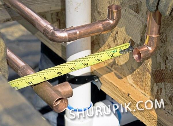Установка водопровода в квартире