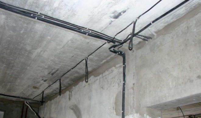 Замена проводки в панельке
